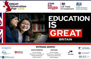 Invitation GREAT Universities Fair 2015