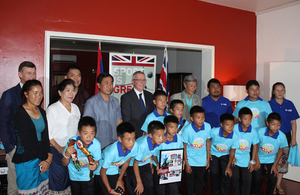 Reception of Lao Rugby Junior Nagas