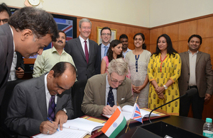 Signing of MoU by UK and Indian regulators