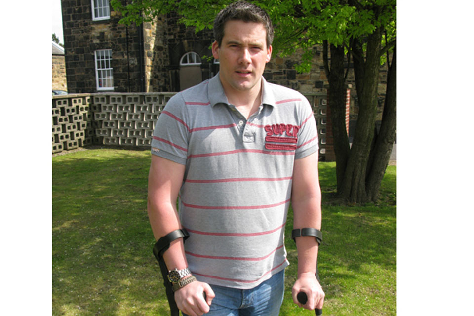 Lance Corporal Mark Harding