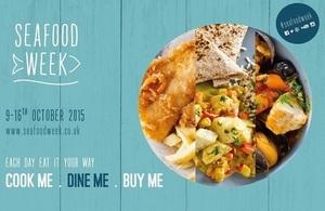 Seafood week poster