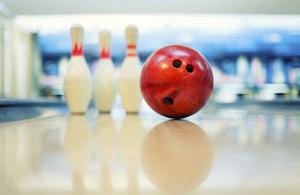 Bowling and pins