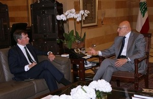 Hugo Shorter with Tammam Salam