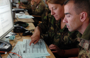 NATO personnel participating in Exercise Arrcade Spear 2