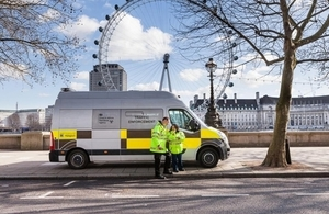 Traffic enforcement in London