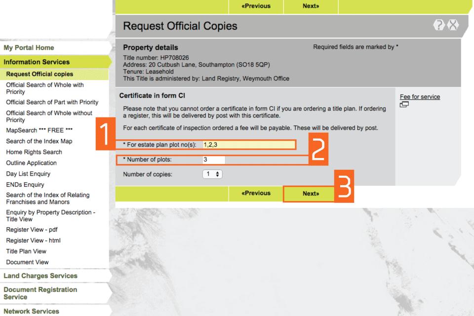 HM Land Registry portal: how to request official copies - GOV UK