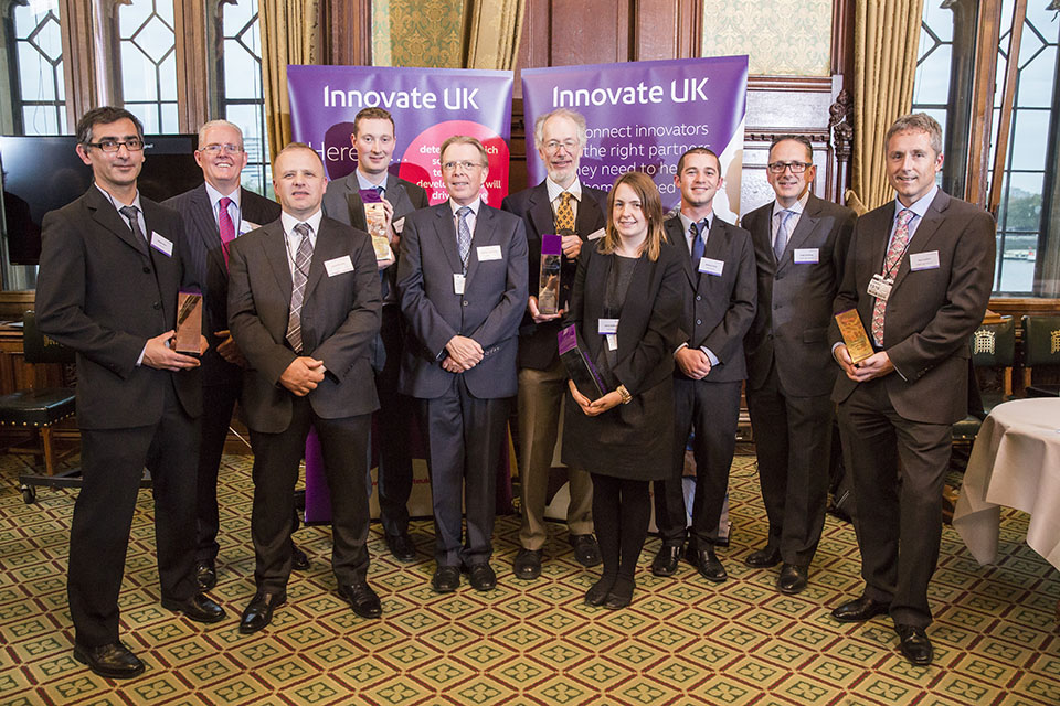 Innovate UK SME innovation award winners 2015