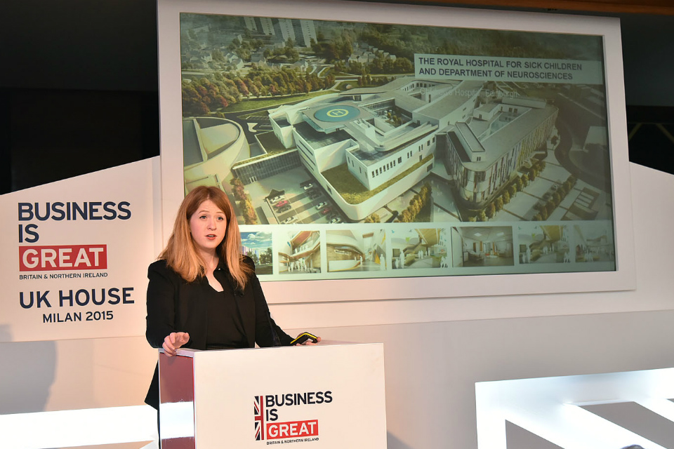 Catherine Simpson, Landscape Architect, HML London presents on healthcare facilities fit for the future