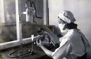 Image of woman in laboratory