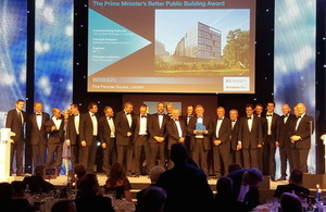 Five Pancras Square wins Prime Minister's Better Public Building Award