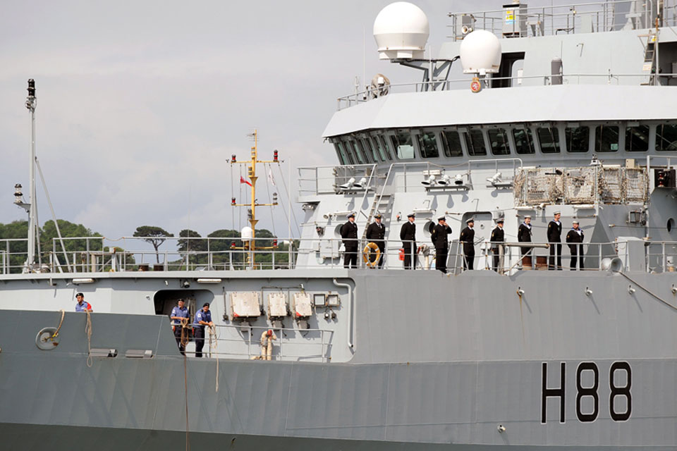 HMS Enterprise has been on a 20-month deployment