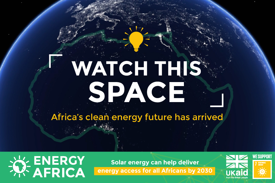 Energy Africa campaign graphic