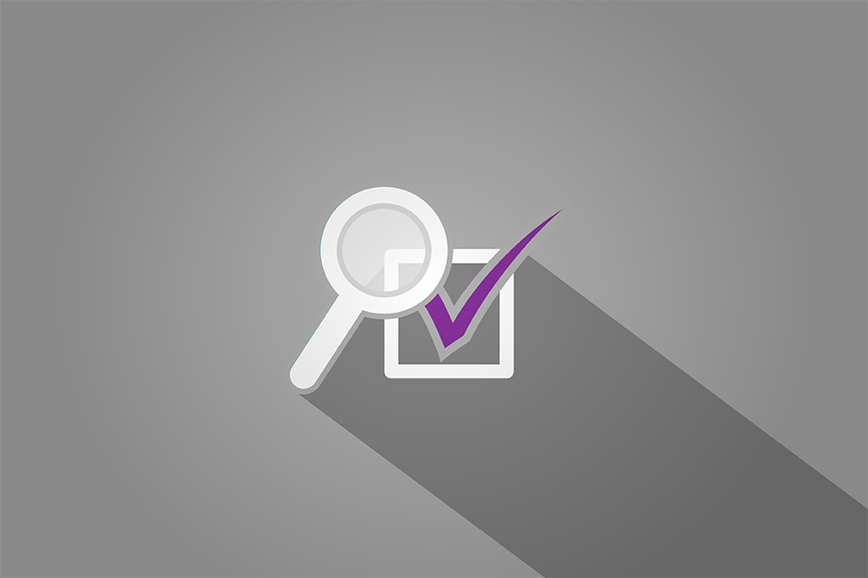 Checkbox with magnifying glass