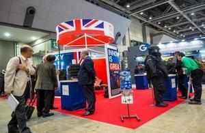 UK technologies on show to the Japanese security sector