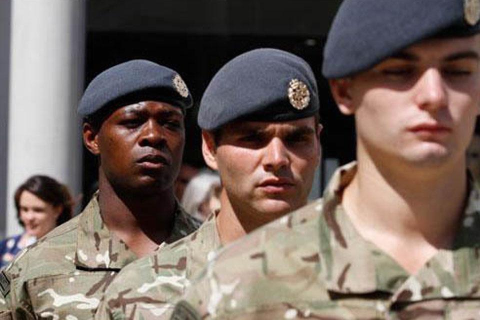 II Squadron RAF Regiment personnel