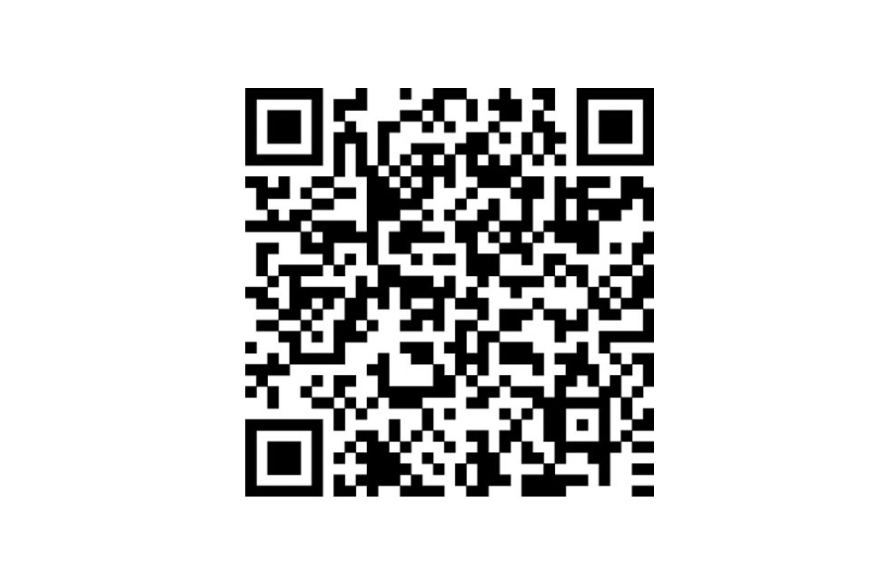 British Menu Week QR code