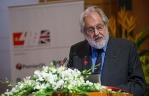 Lord Puttnam, UK Trade and Cultural Envoy of the British Prime Minister to Vietnam