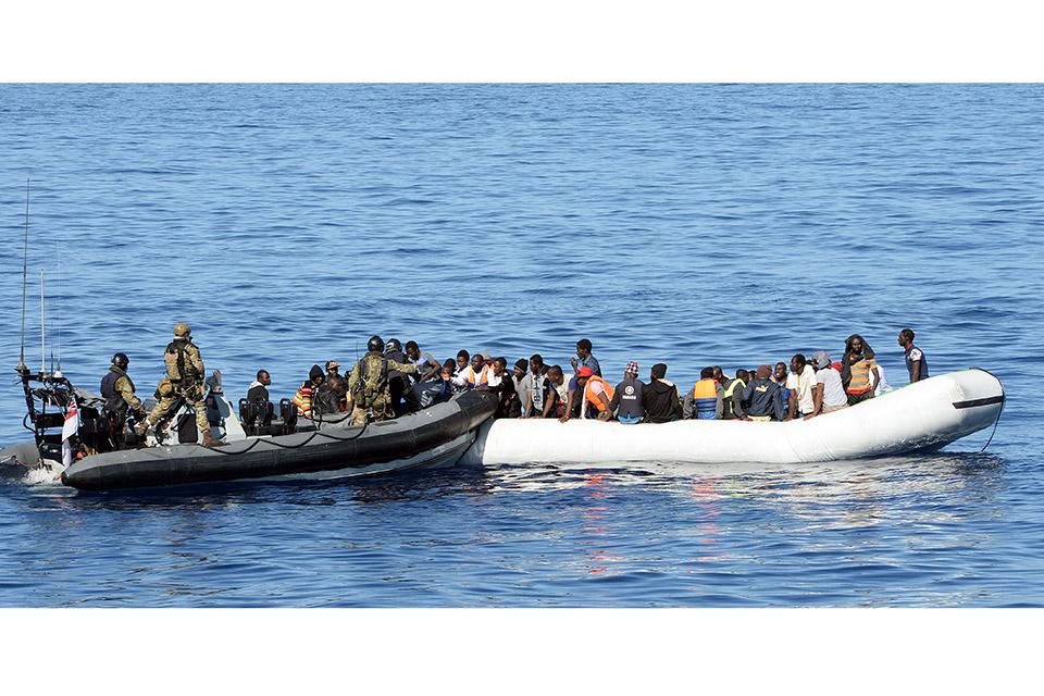 HMS Richmond rescue.