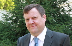 Nicholas Cannon, British Ambassador to Albania