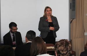 Minister Karen Bradley