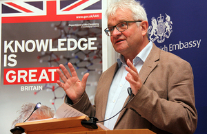 Nobel Prize winner Sir Paul Nurse gave talk on 'Trust in Science'