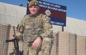 Guardsman Lewis Wilby
