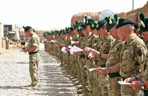 1st Battalion The Royal Irish Regiment