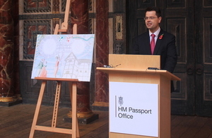 James Brokenshire launches new passport