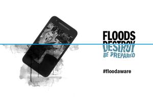 Floods Destroy logo