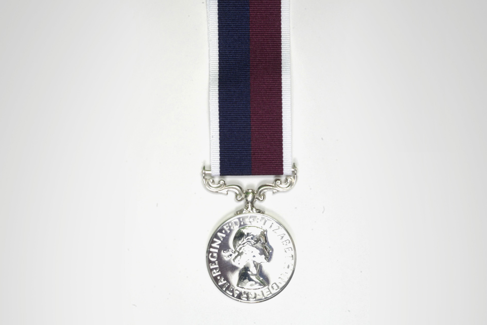 Long service and good conduct medal - RAF