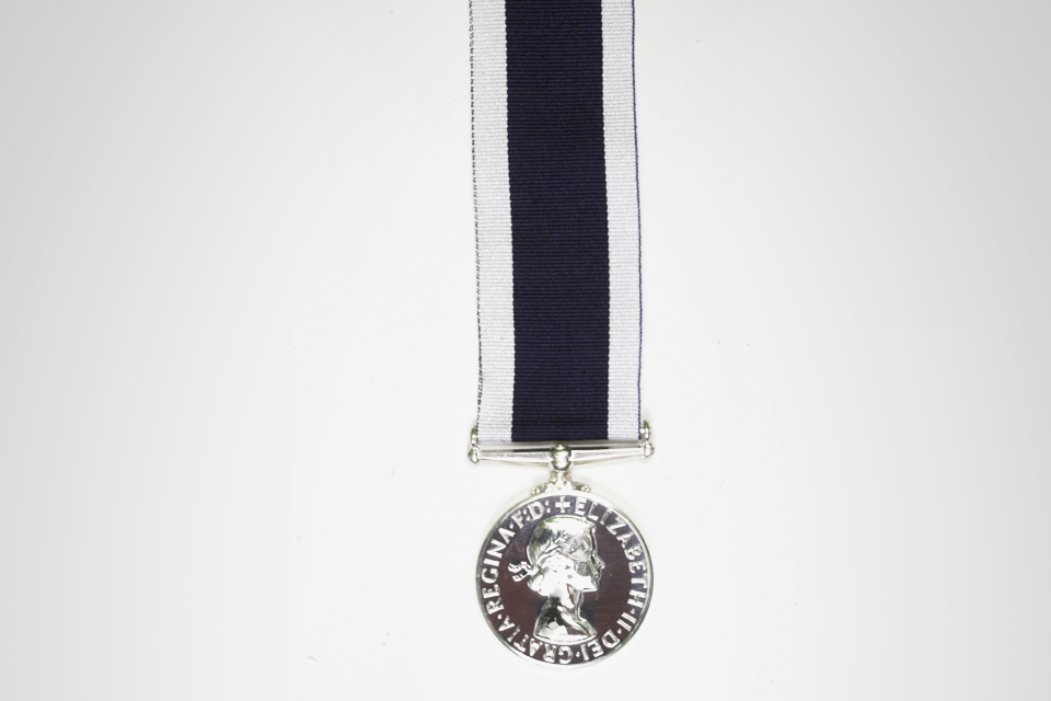 Long service and good conduct medal - RN and RM
