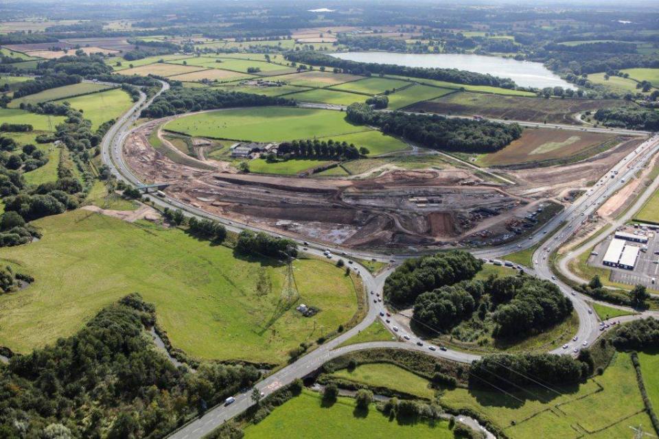 A556 construction 2