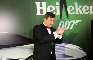 British High Commissioner, Paul Arkwright at yesterday's #SPECTRE premiere