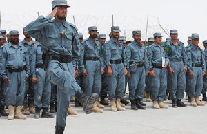 Afghan Uniformed Police