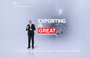 Exporting is GREAT camapaign image