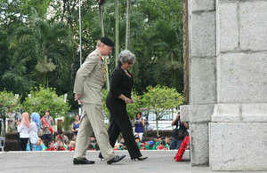 BHC Malaysia Remembrance Day 2015