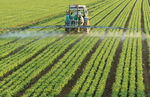 Farm spraying