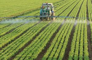 Farm spraying