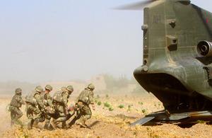 S300 4 scots deliver blow to insurgency in nahr e saraj