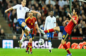 Football friendly - England v Spain travel advice