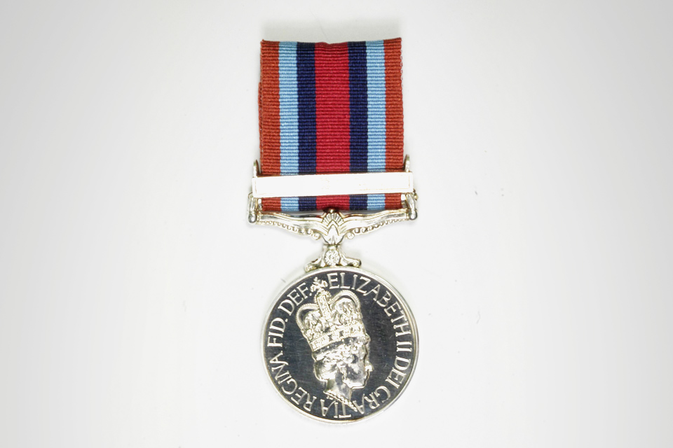 Operational Service Medal with clasp: Congo