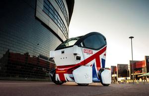 UK technology and expertise showcase at Smart City Expo World Congress 2015