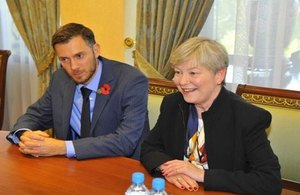 UBTIC Co-Chair Dame Barbara Hay visited Tashkent