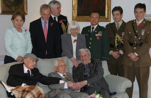 UK-Japan veterans' reconciliation reception