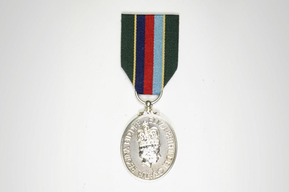 Volunteer Reserves medal
