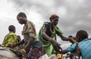 People displaced by conflict, at a UN Protection of Civilians camp in South Sudan. Photo: IOM/Bannon