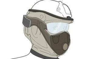 Lightweight, expedient respirator concept design