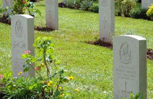 War Graves site