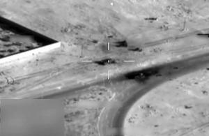 Brimstone missile strike