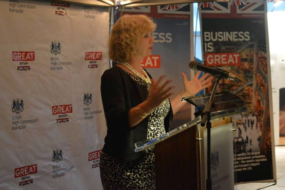 HE Alison Blackburne at the UK-Chinese business dinner